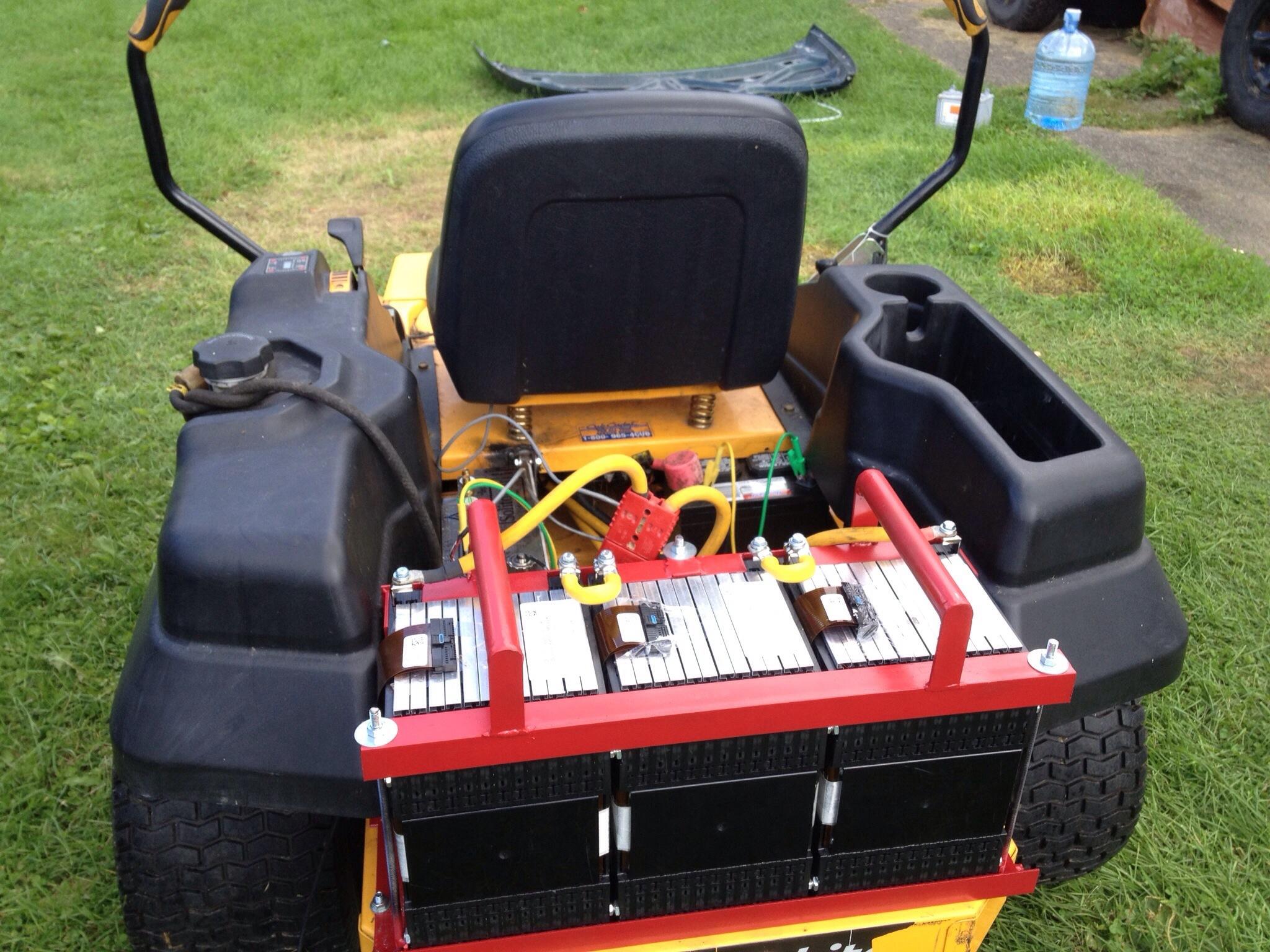 Cub cadet zero turn mower electric conversion | Upstate Electric