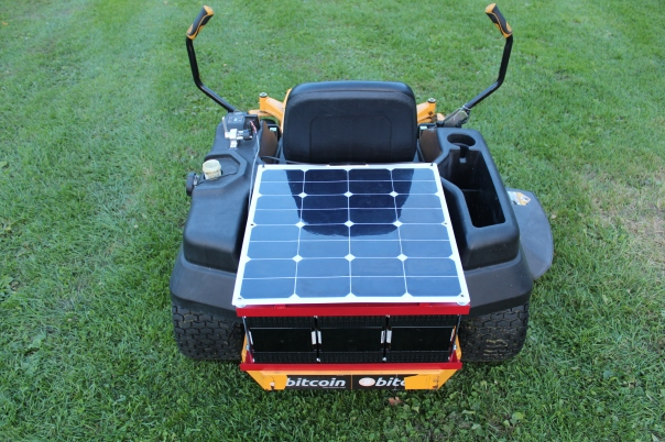 High-efficiency flexible solar motor cover and 12v system charger